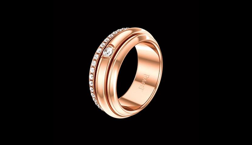 برند پیاژه در ساخت و طراحی حلقه ازدواج نیز فعالیت دارد