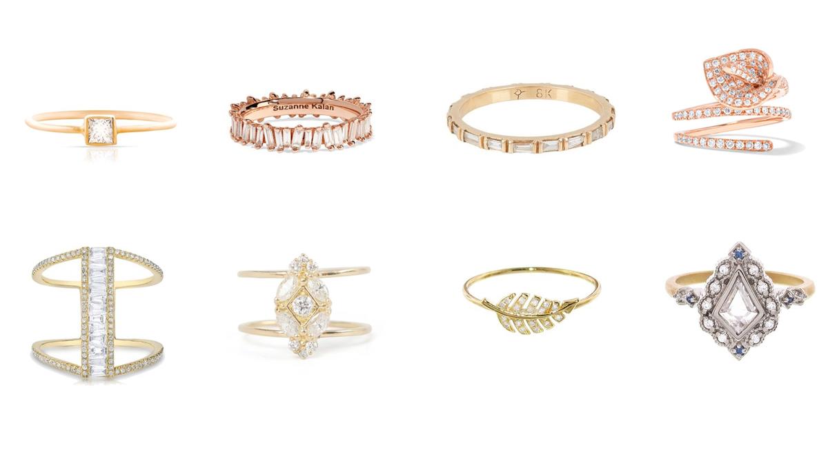حلقههایی با الماسهای عجیب