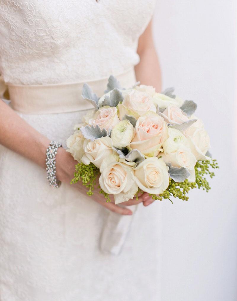 دسته گل عروسی و هماهنگی با اندام عروس