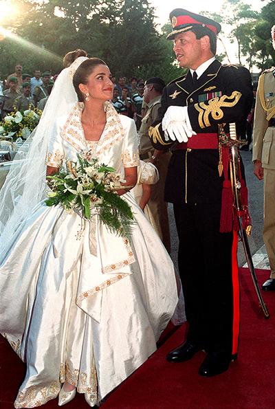 ملکه رانیا همسر ملک عبدالله دوم ، ملکه اردن