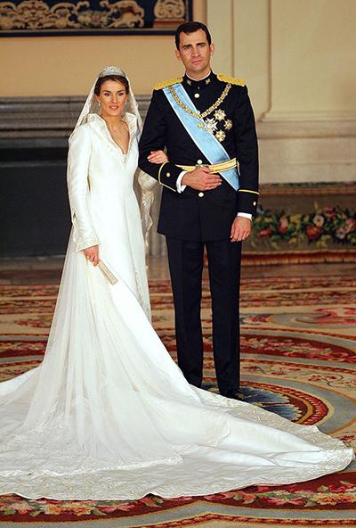 الکه لتیزیا همسر فلیپه بوربن پادشاه کنونی اسپانیا