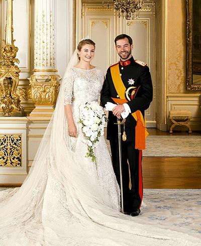 پرنسس استفانی همسر شاهزاده گویائوم، ولیعهد لوکزامبورگ