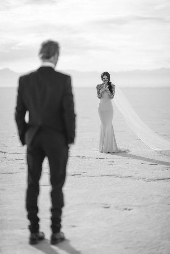 عکاسی از عروس و داماد در ساحل