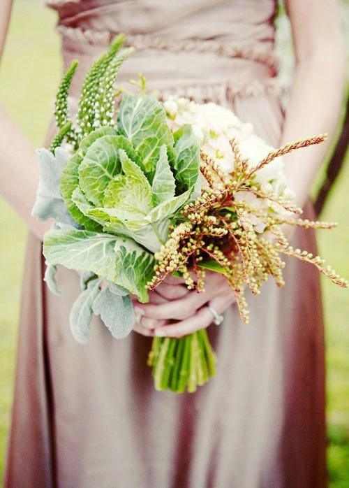 گیاه گل کلم و خاص بودن در دسته گل