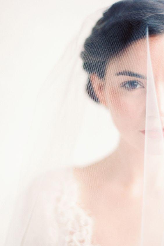 عکاسی از پشت تور عروس