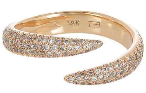 حلقه ازدواج الماس دار