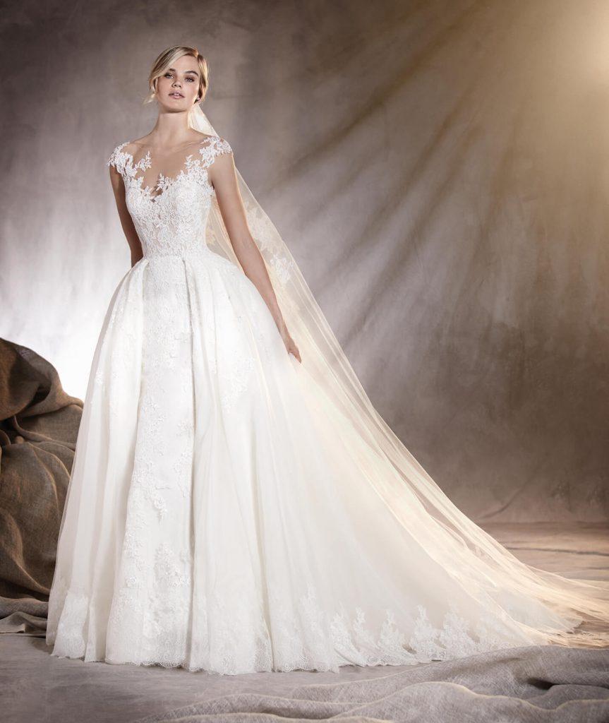 مدلهای بهار و تابستان کلکسیون لباس عروس 2017