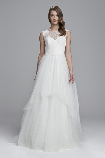 لباس عروس تور و ساتن