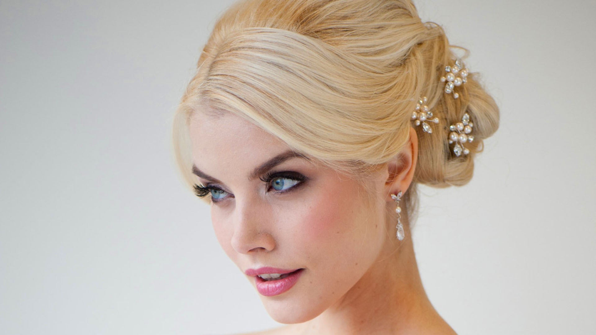 wedding hair styles up با انواع مدل مو عروس بر اساس فرم صورت آشنا شوید مدل مو عروس 4878