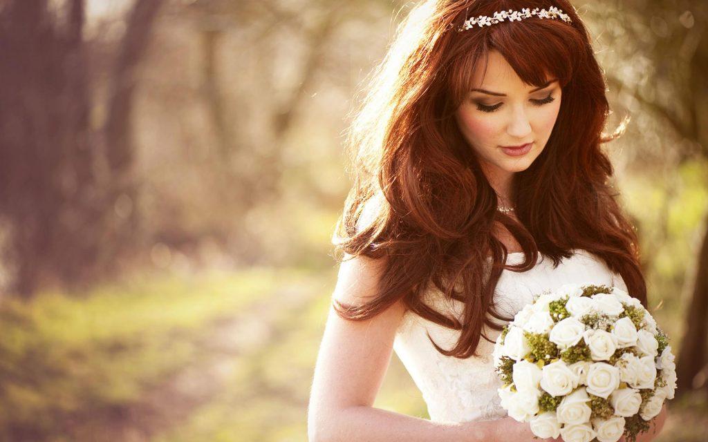مدل موی عروس به طور کامل با فرم صورت در ارتباط است