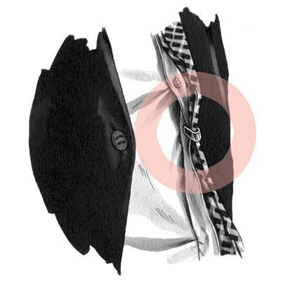 سنجاق کراوات برای این است که قسمت رویی و زیرین کراوات را به لبه پیراهنتان وصل کند.