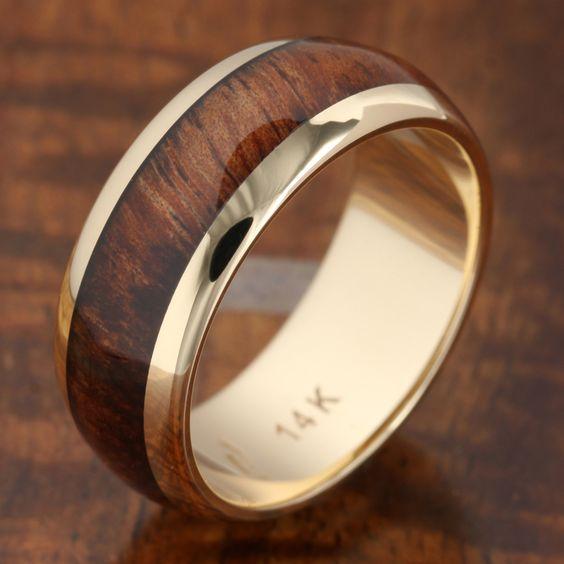 طلا مرسوم ترین فلز برای حلقه مردانه است