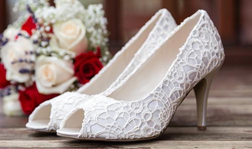 عکس کفش عروس