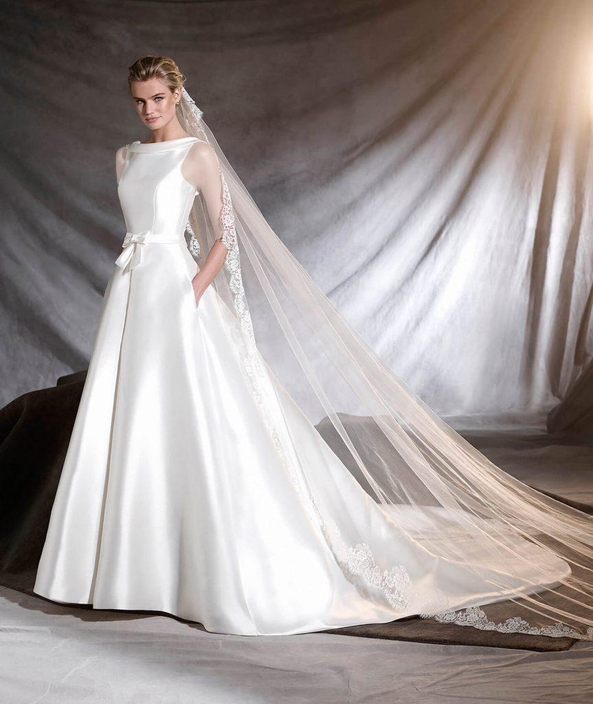 تور سر بلند مخصوص عروس خانمهای قد بلند و کشیده است