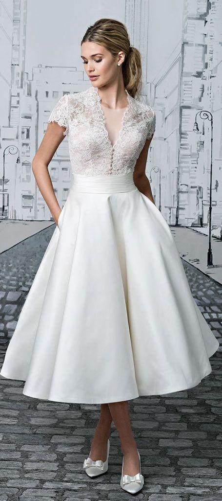 مدل لباس عروس دانتل و ساتن