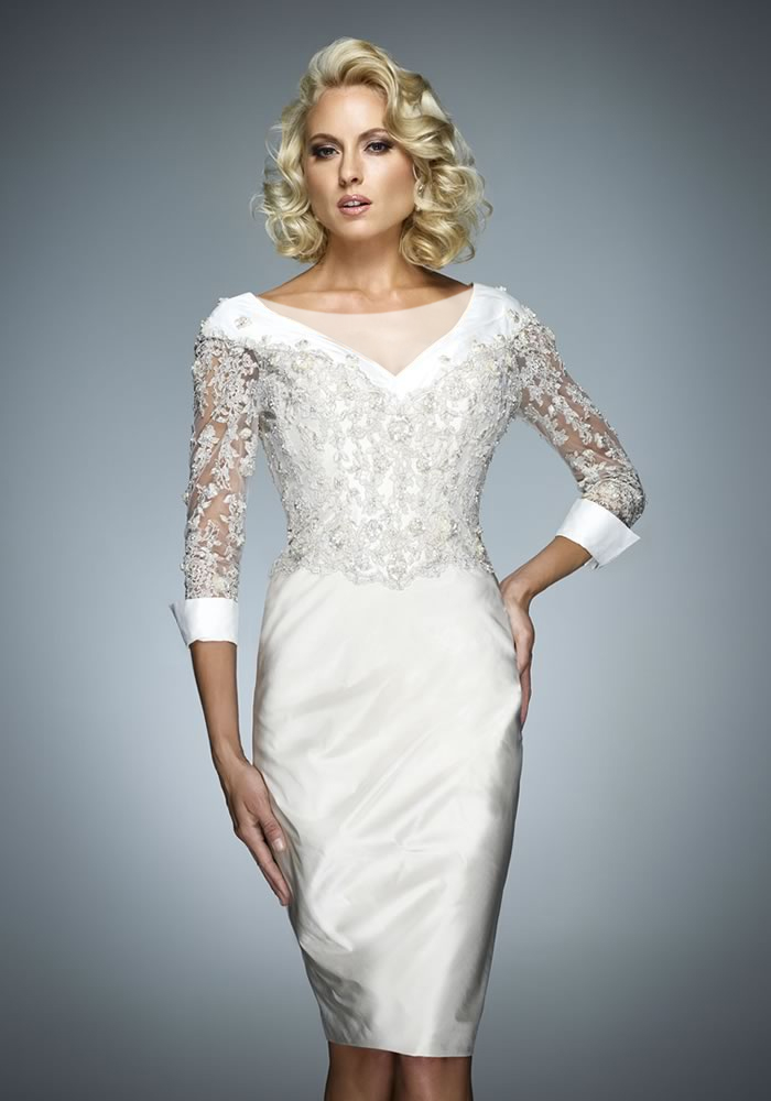 لباس مجلسی سفید رنگ
