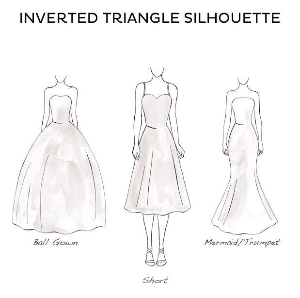 مدلهای پیشنهادی برای لباس عروس مناسب اندام مثلث برعکس