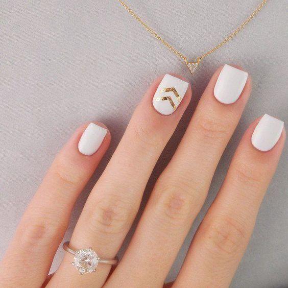 زدن طرح بر روی ناخن انگشت حلقه