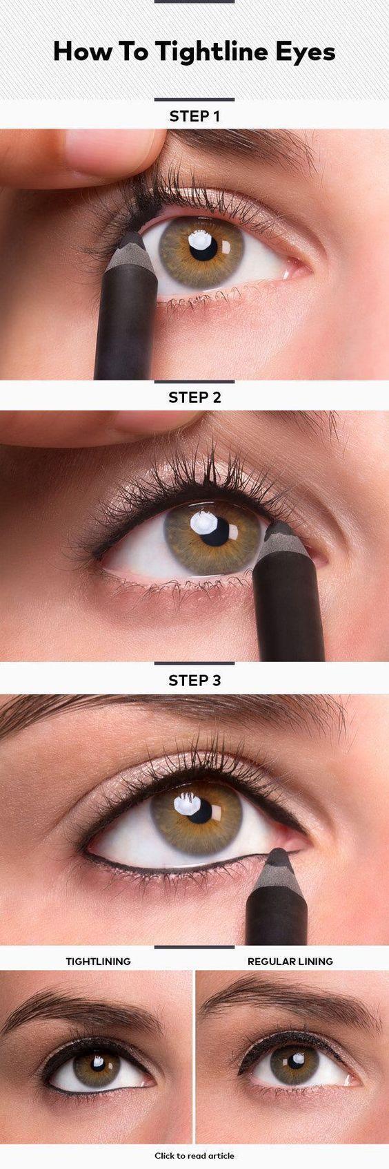 آموزش کشیدن درست خط چشم