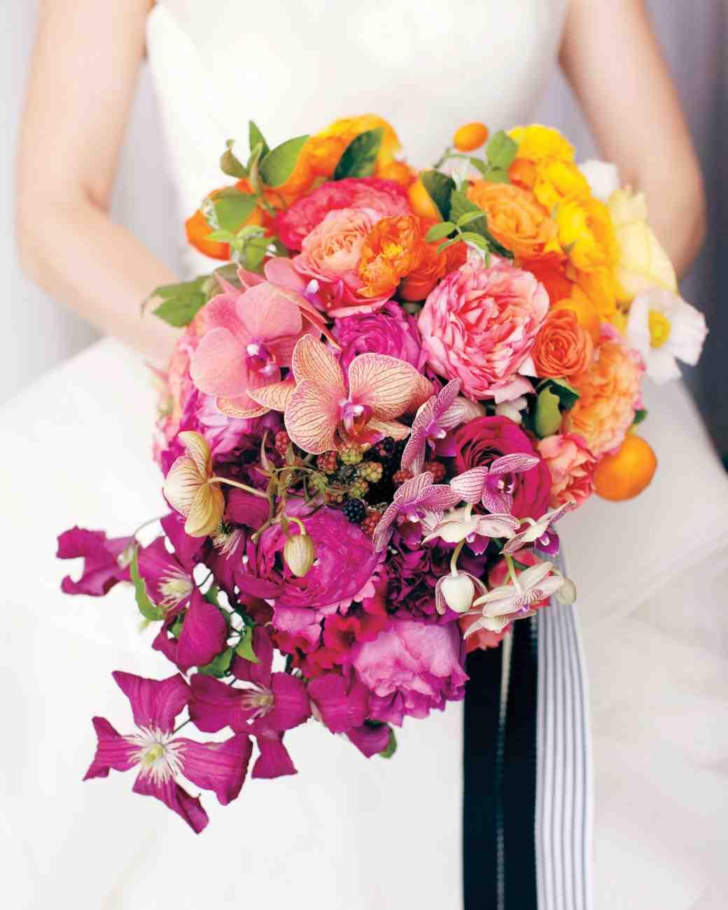 تزئینات دسته گل عروس