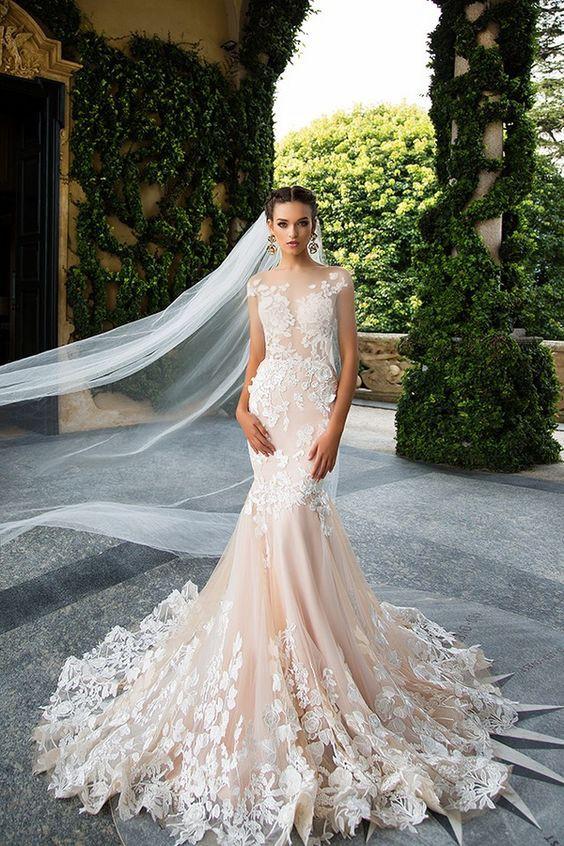 لباس عروس پری دریایی