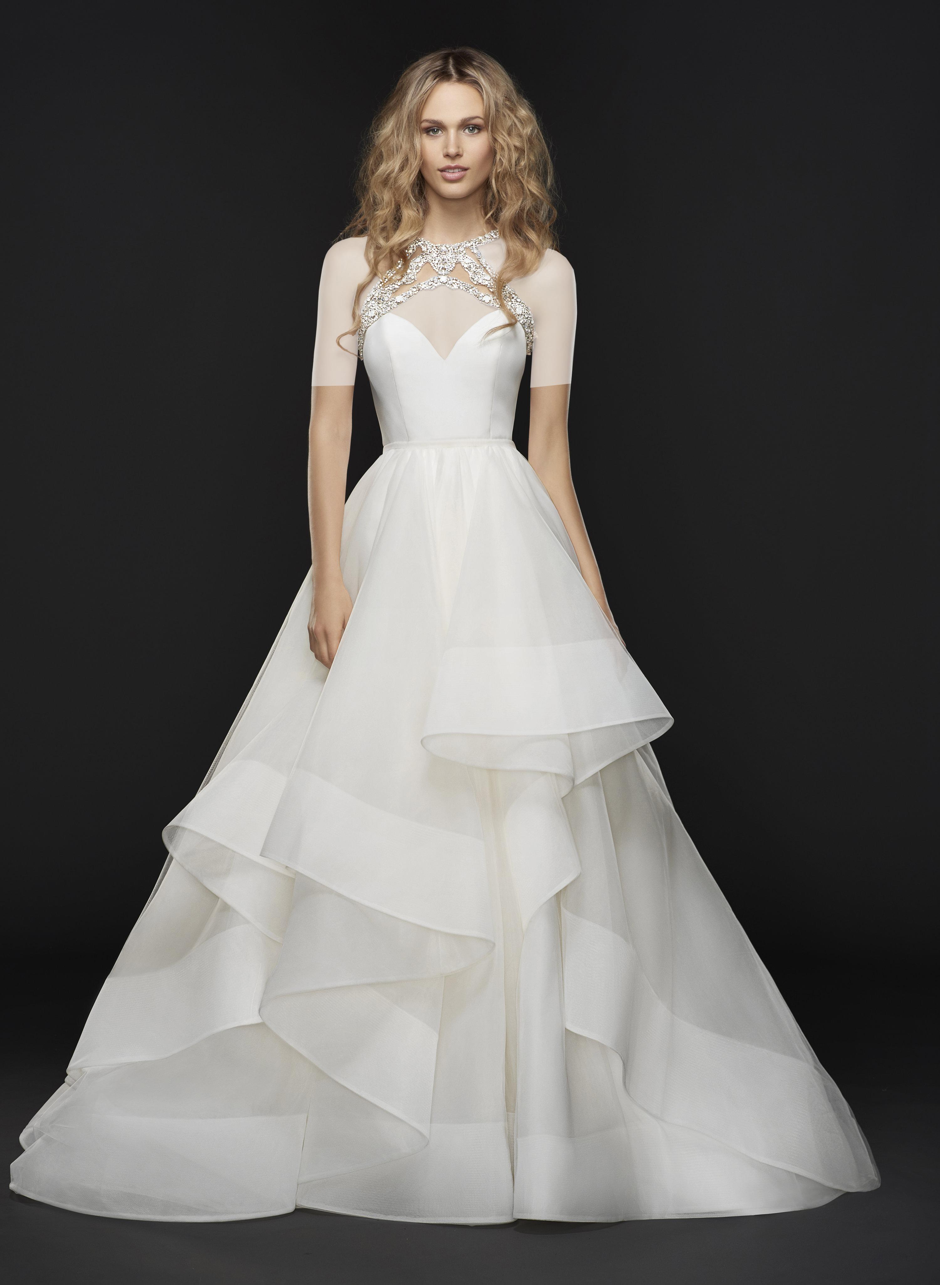 لباس عروس هیلی پیج
