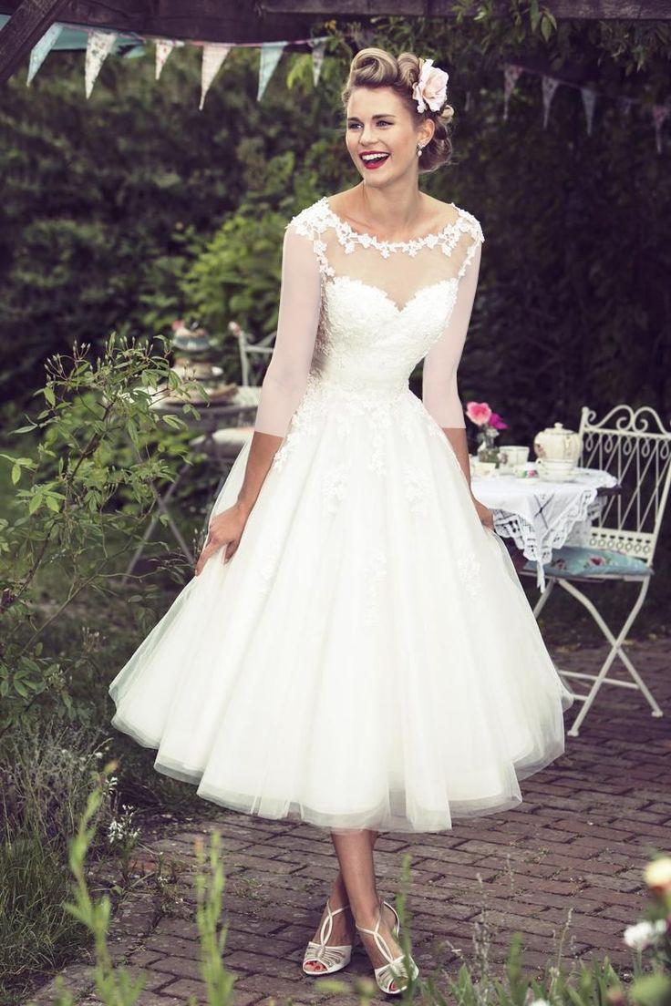 لباس عروس کوتاه جدید