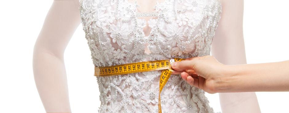لباس عروس را بر اساس سایز واقعی خودتان بخرید
