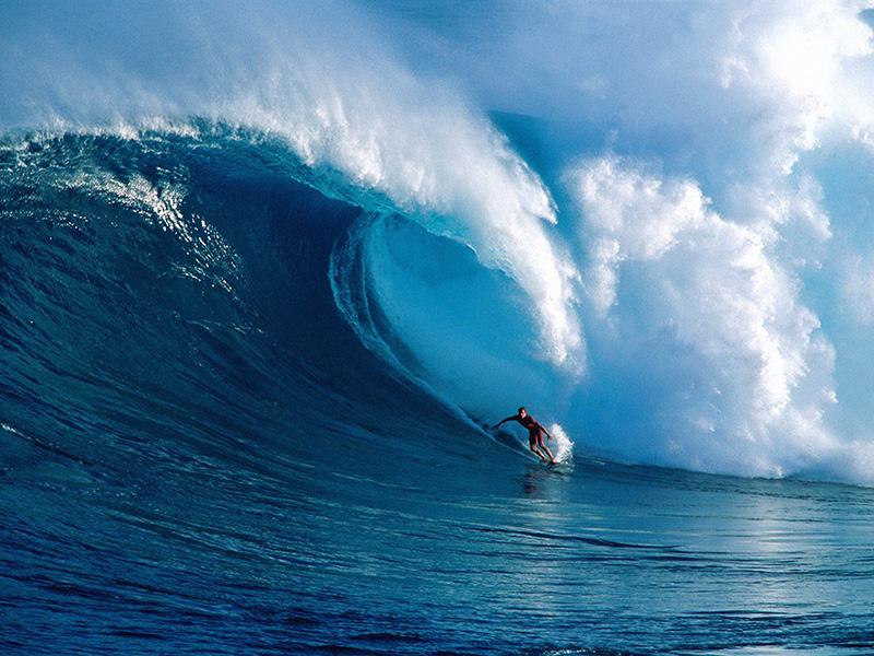 جزیره مائویی هاوایی از ایالت های آمریکا بوده و از هشت جزیره کوچک تشکیل شده است