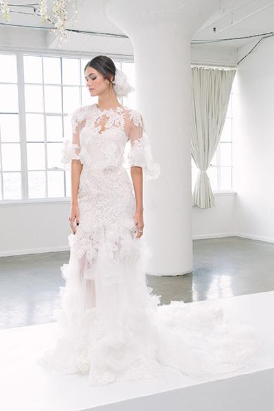 لباس عروس پاییزه