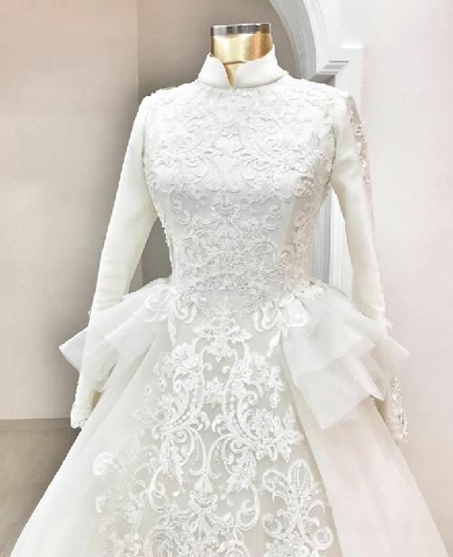 خانه های مد ترکیه برای سال 2018 اقدام به طراحی لباس عروس هایی کردند که بسیار شبیه مدل پرنسس است