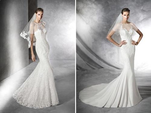 اگر لباس عروستان دارای دنبالۀ کوتاهی می باشد، بهتر است از توری برای روی سرتان استفاده کنید که چندان بلند نباشد