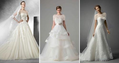 جنس پارچه ای که برای دوخت دامن برش A انتخاب می شود، با توجه به نوع تیپ بدنی عروس متفاوت خواهد بود.