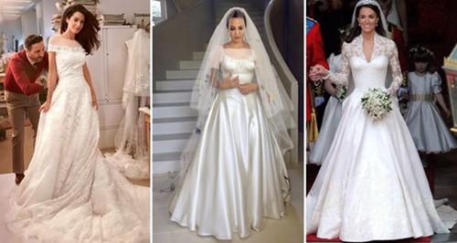 آنجلینا جولی بازیگر سرشناس هالیوودی و امل علم الدین همسر جرج کلونی نیز این نوع لباس را برای مراسم ازدواج بر تن داشتند.