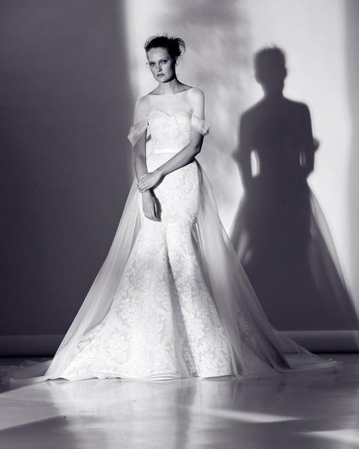 لباس عروس دانتل و حریر