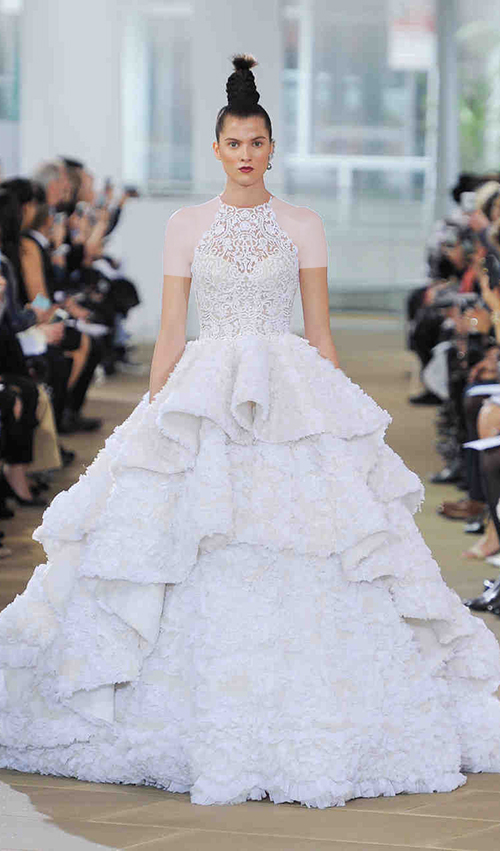 لباس عروس چند چین