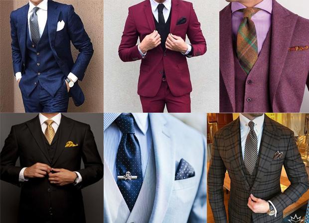 از معیارهای مهم برای انتخاب کت شلوار سه تکه انتخاب درست رنگ است